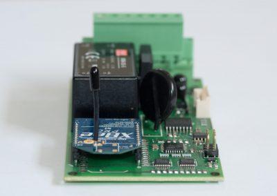 Scheda per il controllo, la gestione la diagnosi in remoto di sistemi di illuminazione (Internet-of-Things)